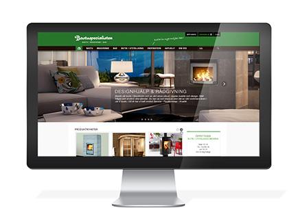 Bastuspecialistens webbshop inspirerar till köp