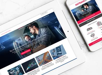 Ny webbplats bäddar för större affärer