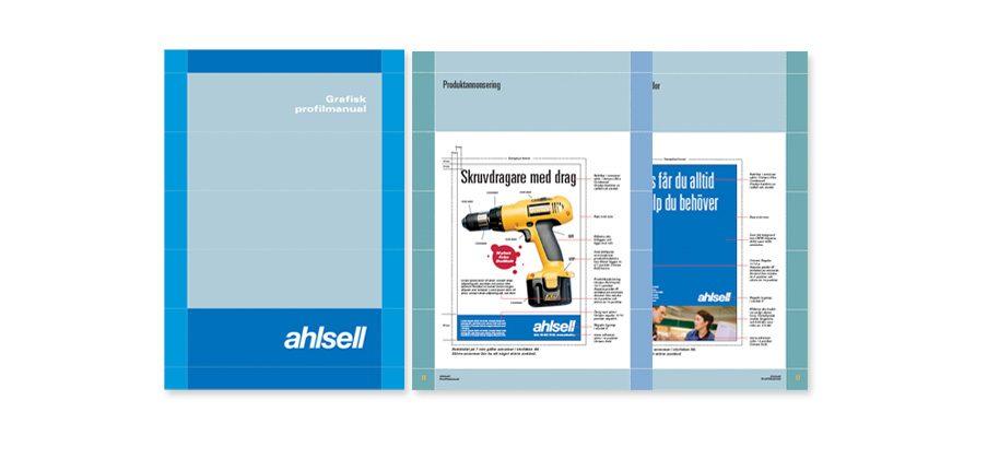 Webbplats och grafisk profil för Ahlsell