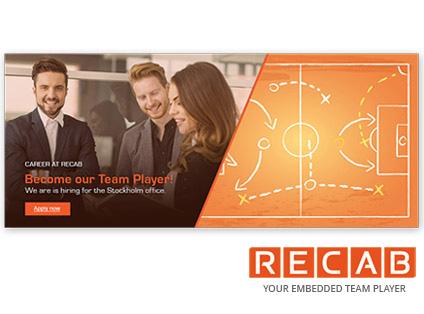 Total ansiktslyftning av varumärket Recab