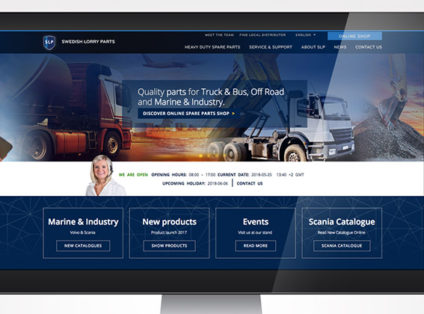 Swedish Lorry Parts ökar försäljningen online